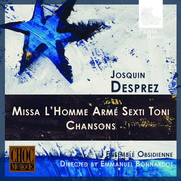 BONNARDOT/ ENSEMBLE OBSIDIENNE-MISSA LHOMME ARME/CHANSONS-CD PHAIA MUSIC NEU
