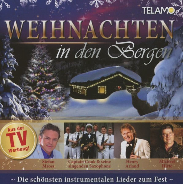 various weihnachten in den bergen telamo cd grooves inc. Black Bedroom Furniture Sets. Home Design Ideas