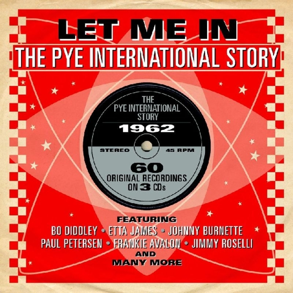 Various - Let Me In-Pye International CD (3) Notnow - One Day Rec. NEW