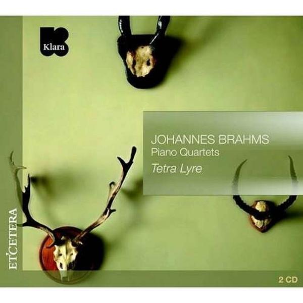 BRAHMS J. - Brahms: Piano Quartets CD (2) Etcetera NEW