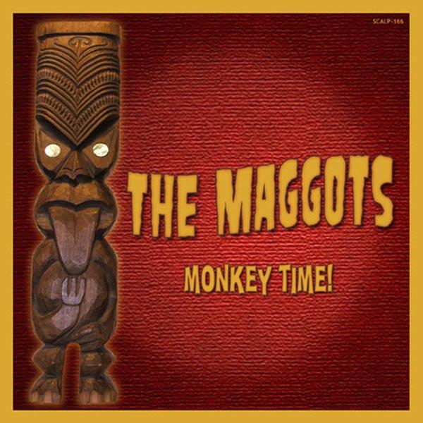 THE MAGGOTS-MONKEY TIME!-CD SCREAMING APPLE NEU