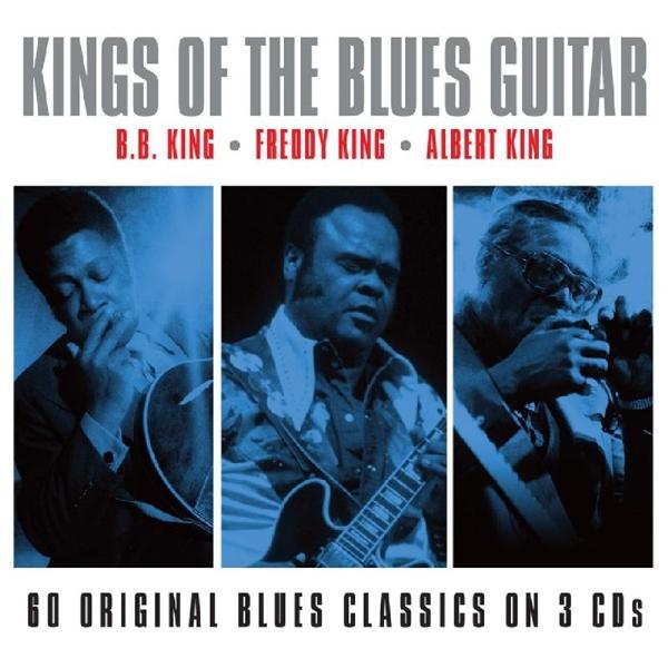VARIOUS-KINGS OF THE BLUES GUITAR-CD3 NOTNOW NEU