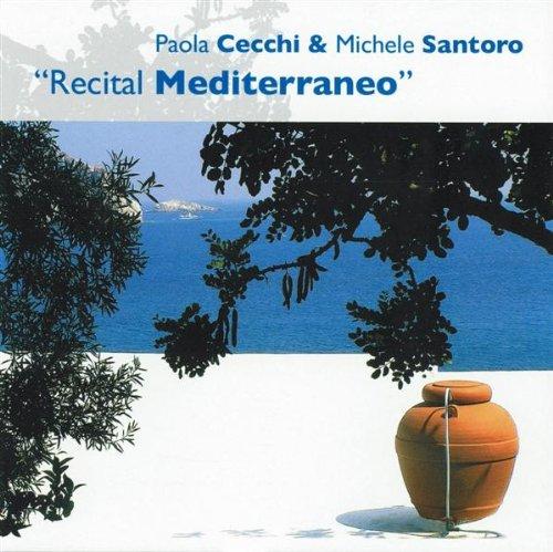 Cecchi, Paola and Michele S - Recital Mediterraneo CD Poliedizioni NEW