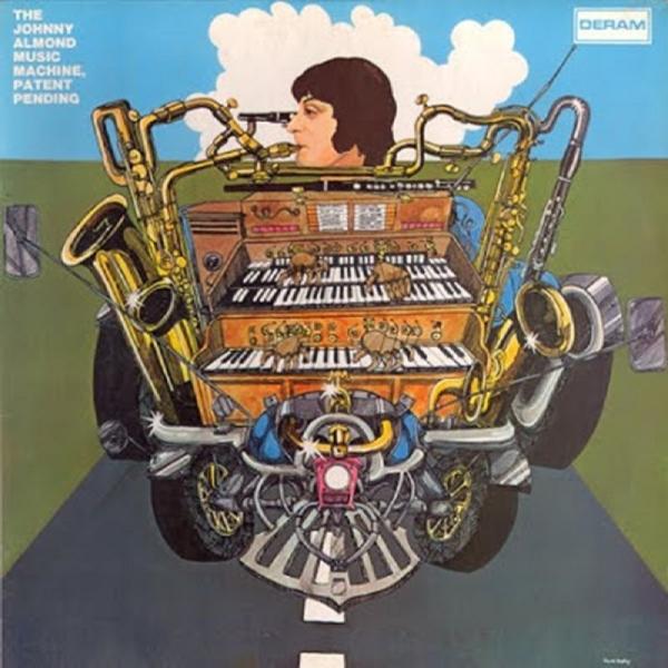 JOHNNY ALMOND MUSIC MACHINE-PATENT PENDING-CD ESOTERIC NEU