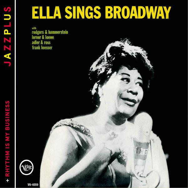 Ella Fitzgerald - Sings Broadway (+Rhythm Is My Business) CD Verve NEW