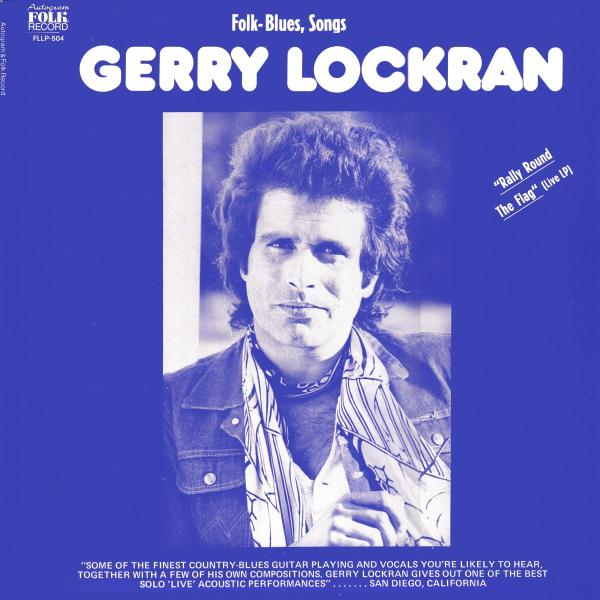 LOCKRAN-GERRY-RALLY-ROUND-THE-FLAG-VINYL-LP-AUTOGRAM-R-NEU