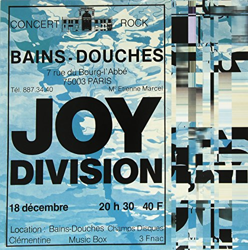 Joy division live at les bains douches paris december 18 for Les bains douches paris