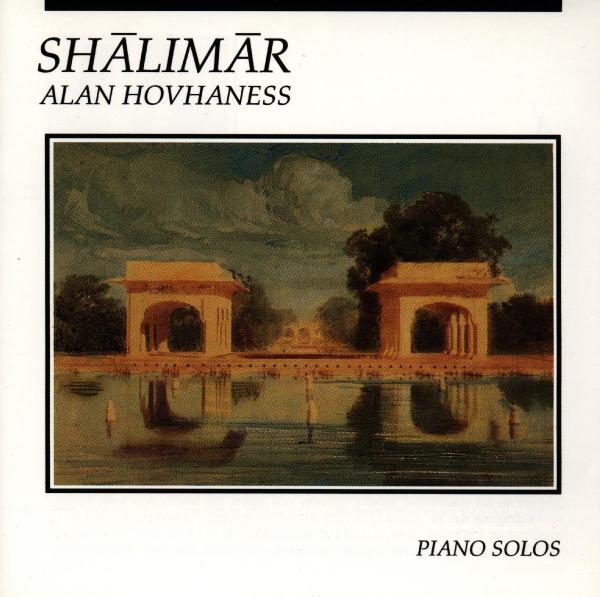 ALAN HOVHANESS-SHALIMAR-CD CELESTIAL HARMONIES NEU