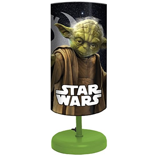 star wars nachttischlampe yoda 29 cm star wars merchandise grooves inc. Black Bedroom Furniture Sets. Home Design Ideas