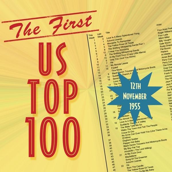 VARIOUS-THE FIRST US TOP 100 NOVEMBER 12TH 1955-CD ACROBAT NEU