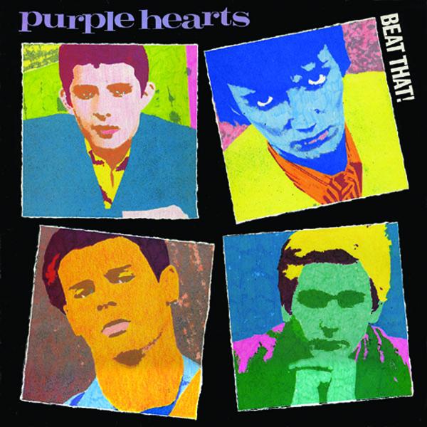 PURPLE HEARTS-BEAT THAT-CD CAPTAIN OI NEU