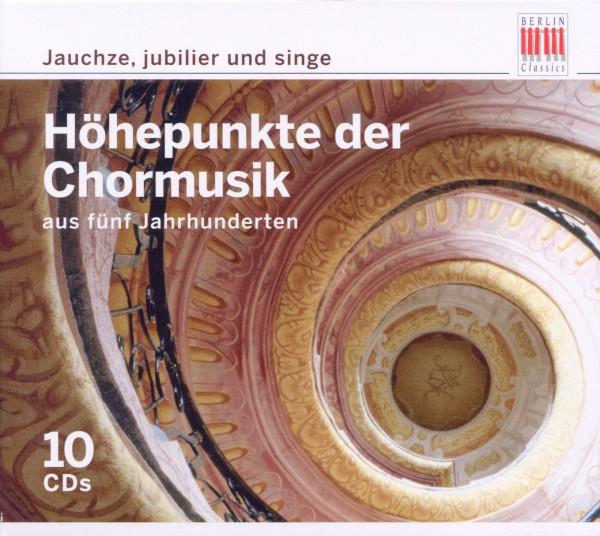 VARIOUS-CHOREDITION-JAUCHZE,JUBILIER UND SINGE (BOX-SET)-CD10  NEU