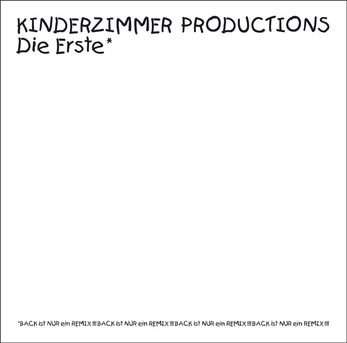 Kinderzimmer productions die erste trikont lp grooves inc for Kinderzimmer productions