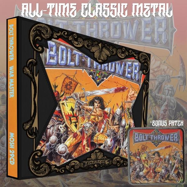 Bolt Thrower - War Master - Earache CD Grooves Inc.
