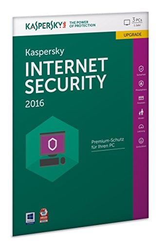pc kaspersky internet security 2016 3 lizenzen upgrade. Black Bedroom Furniture Sets. Home Design Ideas