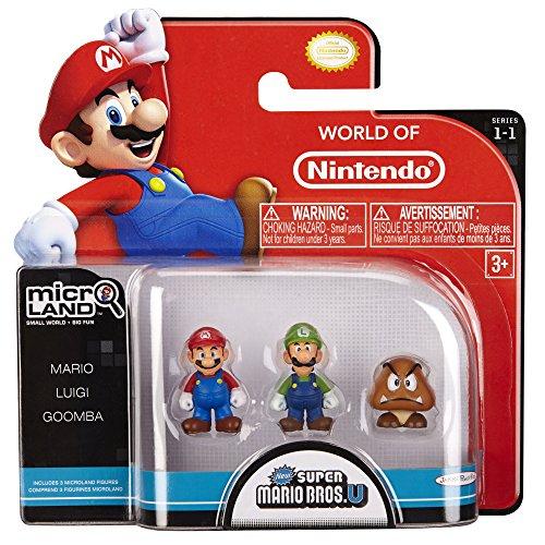 Nintendo Goomba Toys N Joys : Luigi nintendo micro figur er pack mario goomba