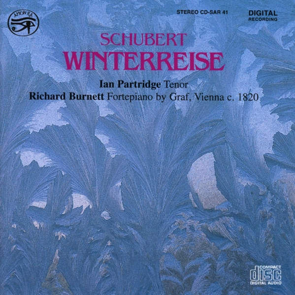 IAN PARTRIDGE-WINTERREISE-CD SAYDISC NEU