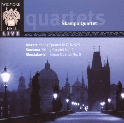 SKAMPA QUARTET-STREICHQUARTETTE-CD WIGMORE HA NEU