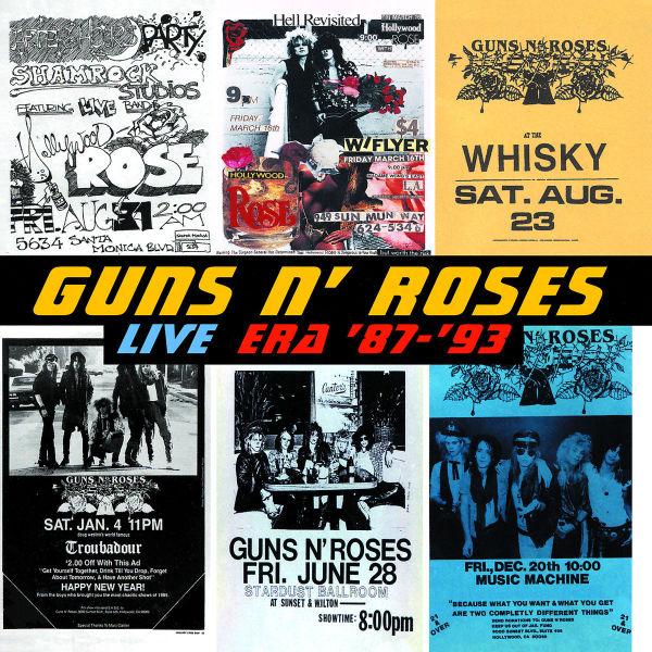 guns n roses live era 8793 geffen cd grooves inc