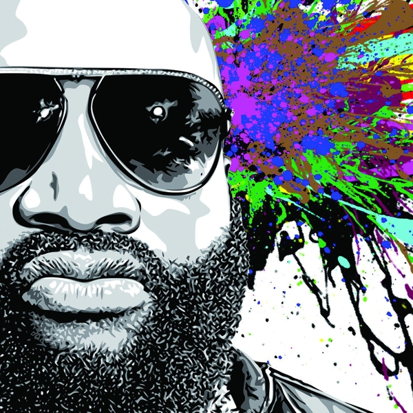 Rick Ross - Mastermind - Def Jam CD Grooves Inc.