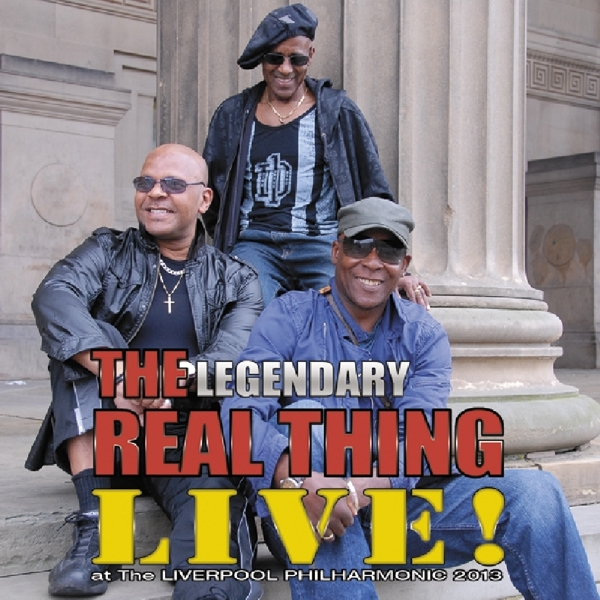 REAL THING-LIVE AT THE LIVERPOOL PHILHARMONIC-CD ANGEL AIR NEU