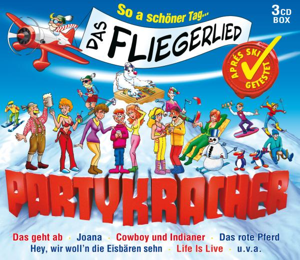 Various: Partykracher-Das Fliegerlied (-CD Sampler) NEW