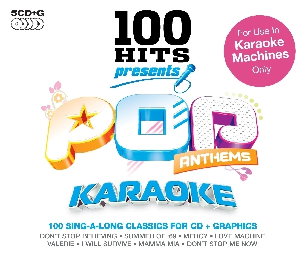 100 Hits-Presents Pop Anthems