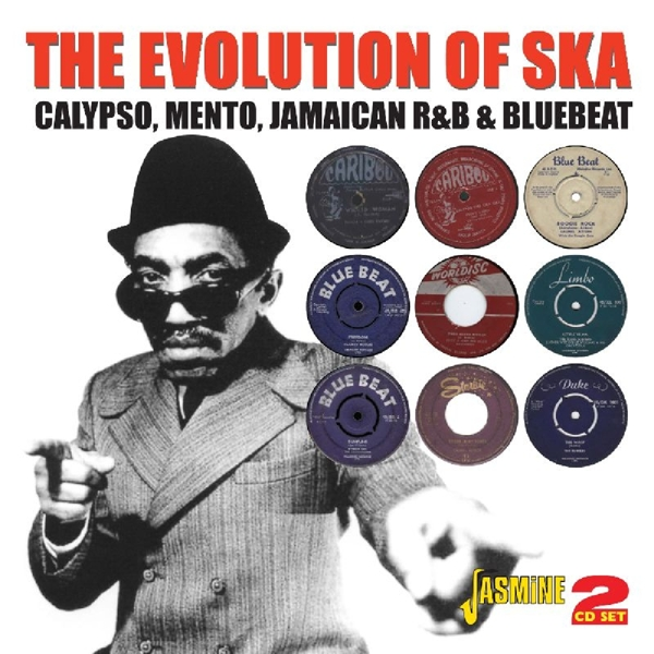 Various - The Evolution Of Ska CD (2) Jasmine NEW