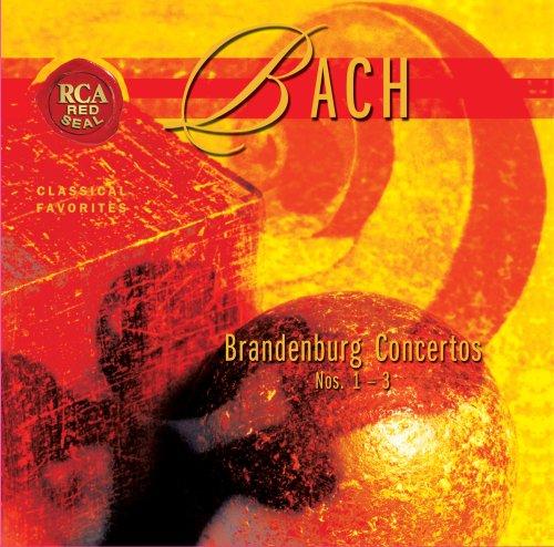 BACH-BRANDENBURG CONCERTOS: RCA RED SEAL-CD  NEU