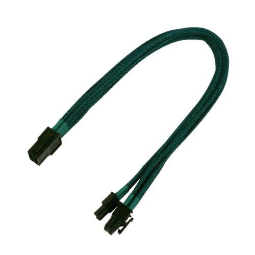 Nanoxia-PCI-E-Adapterkabel-6-auf-6-2-Pin-30-cm-Adapter-Cable-Nanoxia-NEU