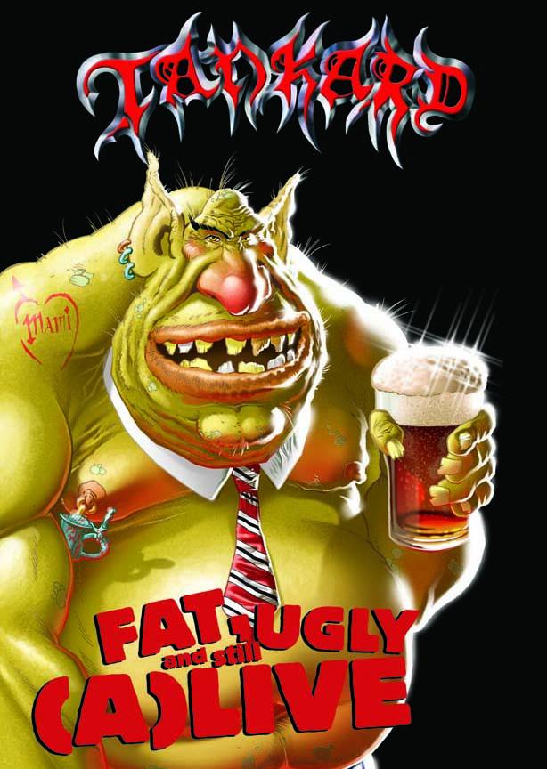 FAT,UGLY AND STILL (A) LIVE-TANKARD-DVD (2) NEU