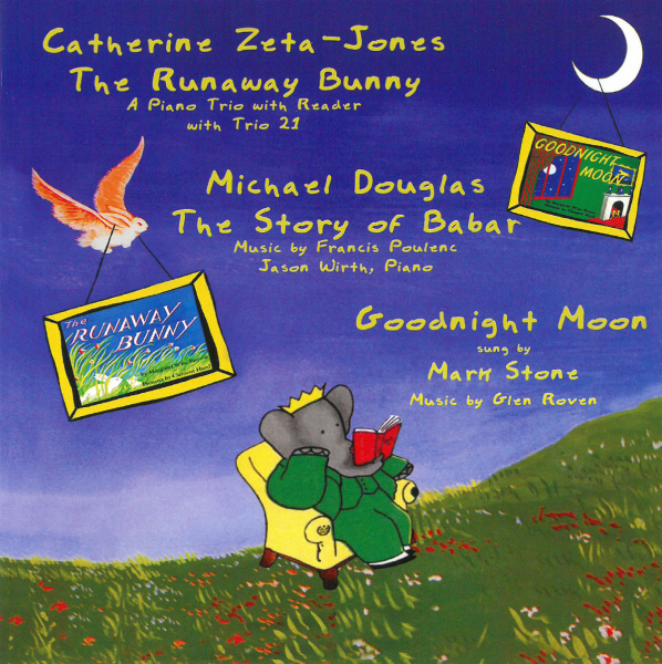 ZETA-JONES/ DOUGLAS/ STONE-THE RUNAWAY BUNNY/THE STORY OF BABAR-CD GPR RECO NEU