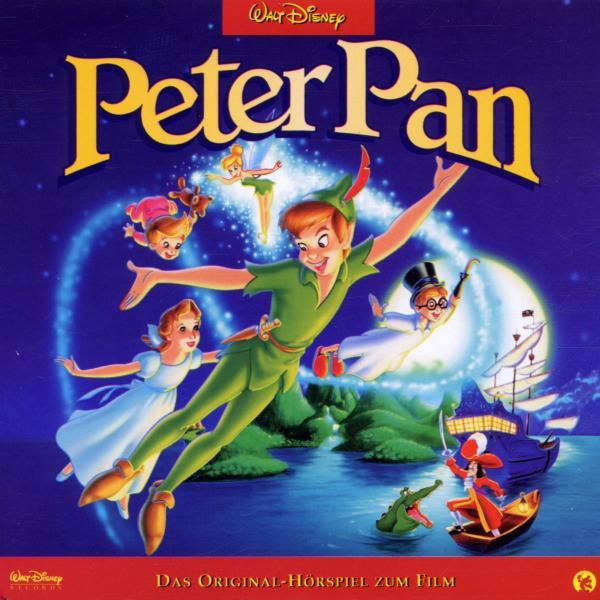 Walt Disney PETER PAN Scholastic 2007 Wonderful World of Reading Hardcover