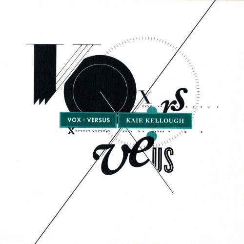 KAIE KELLOUGH-VOX : VERSUS-CD  NEW