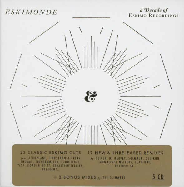 VARIOUS-ESKIMONDE/A DECADE OF ESKIMO RECORDINGS-CD (5) ESKIMO NEW