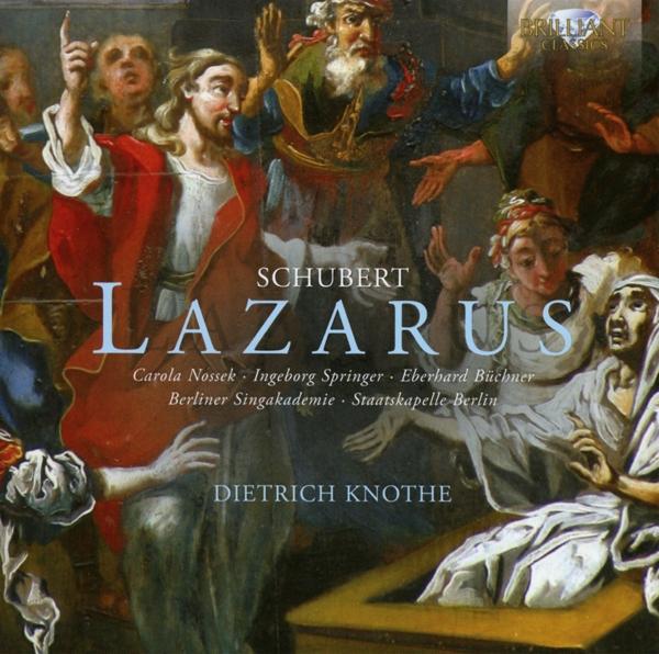 DIETRICH KNOTHE / BERLINER SINGAKADEMIE / SB-LAZARUS-CD BRILLIANT NEW
