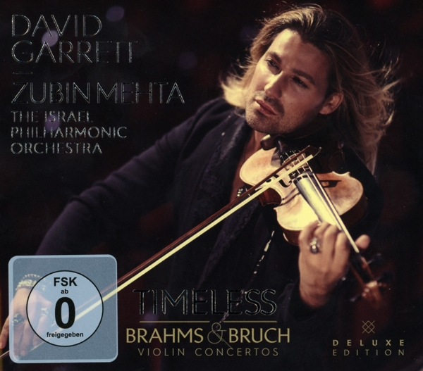 Timeless-Brahms and Bruch Violin Concertos [DE-Version, Regio 2/B] - David  NEW