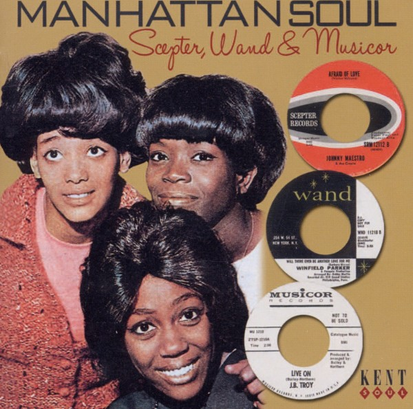 VARIOUS-MANHATTAN SOUL-SCEPTER,WAND AND MUSICOR-CD ACE RECORDS NEU