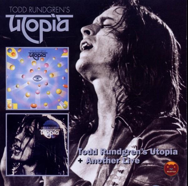 Utopia - Todd Rundgrens Utopia/Another Live - Demon ...