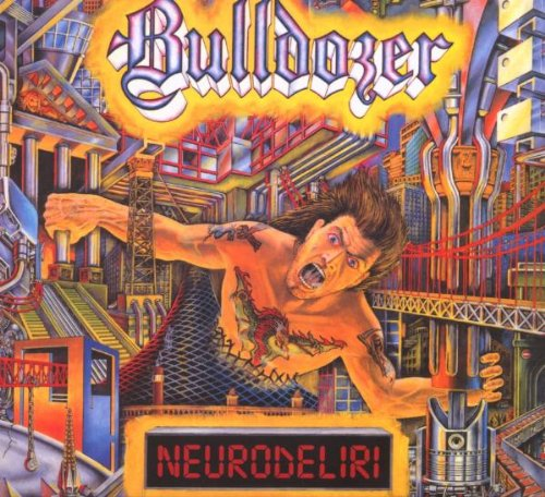 BULLDOZER-NEURODELIRI-CD METAL MIND NEW