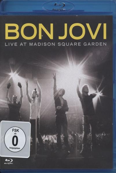 Bon Jovi Live At Madison Square Garden Blu Ray Dvd Island Blu Ray Grooves Inc