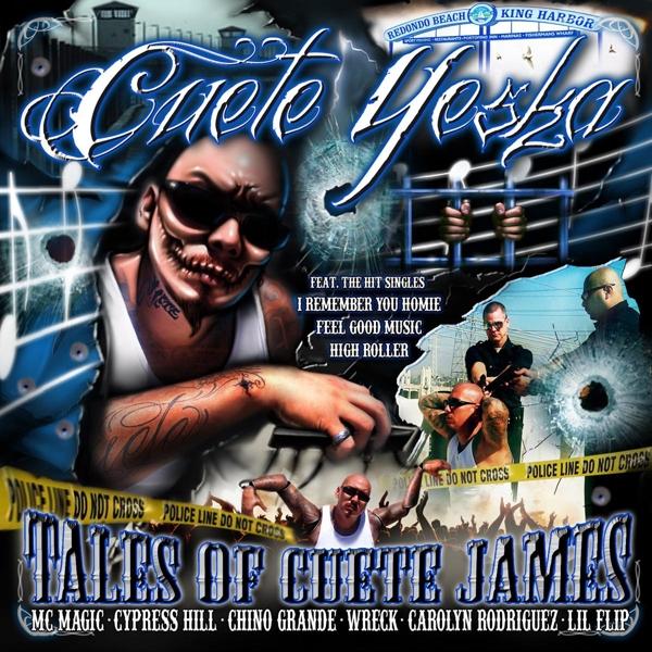Cuete Yeska - Tales Of Cuete James CD Pr Records NEW