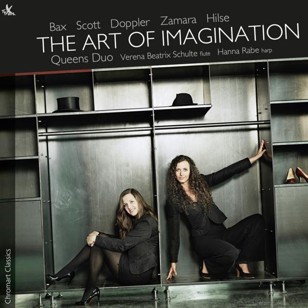 DOPPLER A. - The Art of Imagination-Musik für Flöte und Harfe CD  NEW
