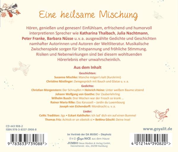 Various Gute Besserunggeschichtenlieder Und Gedichte