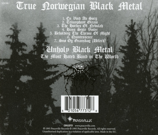Darkthrone - Panzerfaust - Peaceville CD Grooves Inc