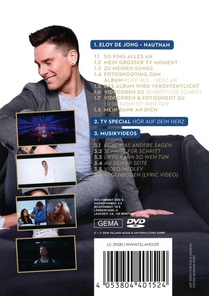 Eloy De Jong Kopf Aus Herz An Telamo Dvd Grooves Inc