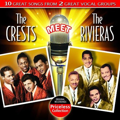 Crests/ Rivieras - Crests Meet The Rivieras CD  NEW