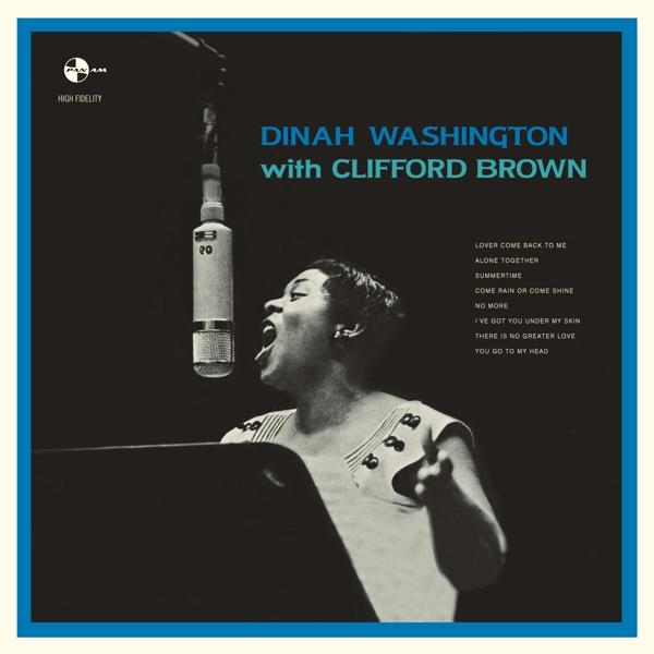 Washington, Dinah With Brown, Clifford - With Clifford Brown+1 Bonus Vinyl  NEW