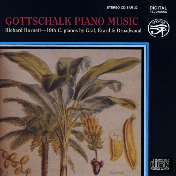 GOTTSCHALK L. M. - Piano Music CD Saydisc NEW