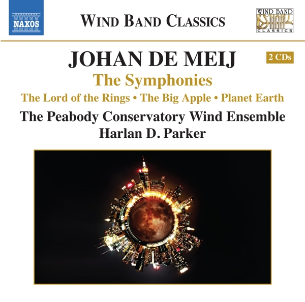Parker/ Peabody Conservatory Wind Ensemble - Sinfonien 1-3 CD (2) Naxos NEW